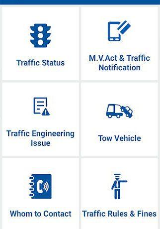 Ahmedabad Rural Traffic Police App.