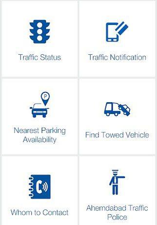 Ahmedabad Traffic Police App.