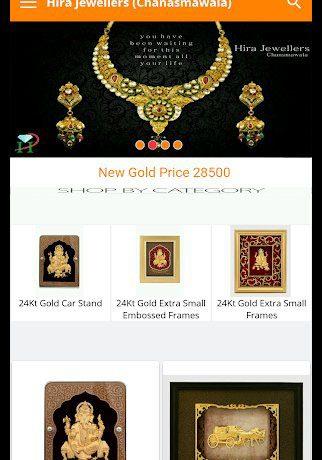 Hira Jewellers (Chanasmawala) – Since 2003 App.