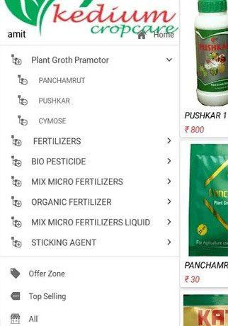 Kedium Crop Care App.