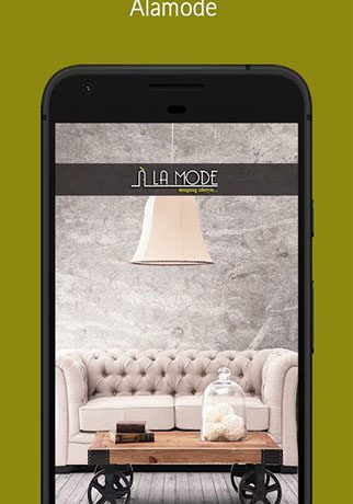 Alamode Interior – furniture design service App.