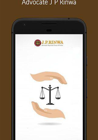 Advocate J P Rinwa App.