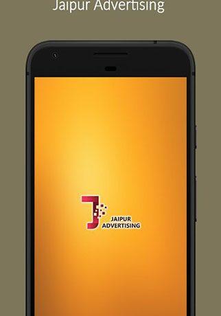 Jaipur Advertising App.