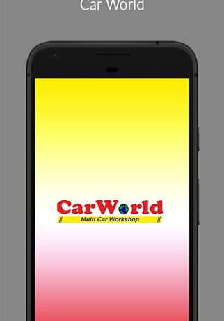 Car World – Multi Car workshop App.