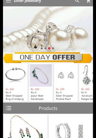 Appsara Silver Jewellery App